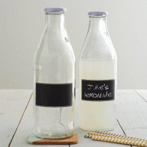 Blackboard Lidded Bottle 1 L