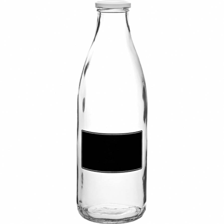 Blackboard Lidded Bottle 1 L