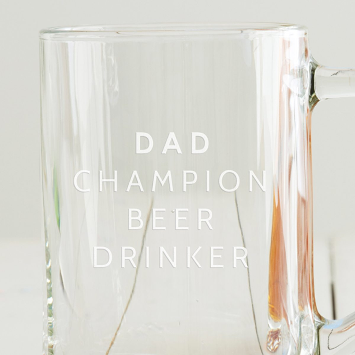 Personalised 'Champion Beer Drinker' Tankard