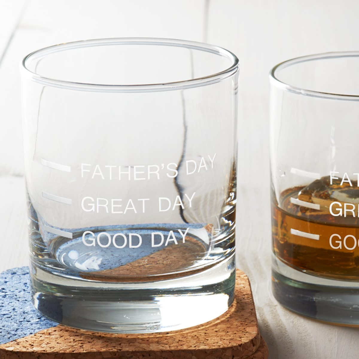 'Father's Day' Measures Glass