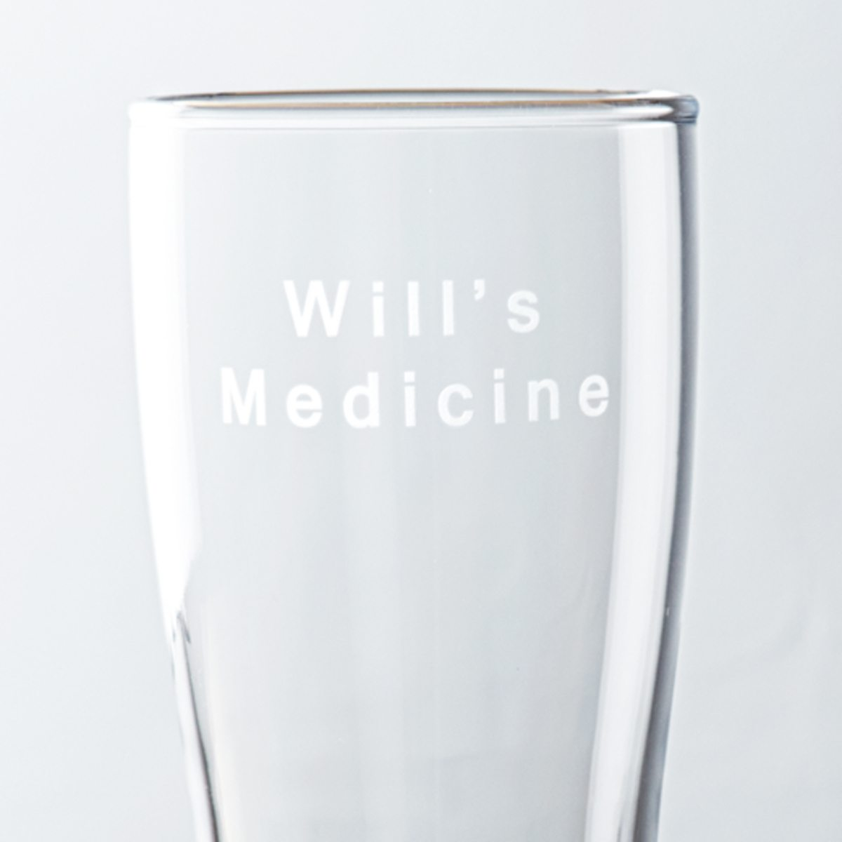Personalised Medicine Pint Glass