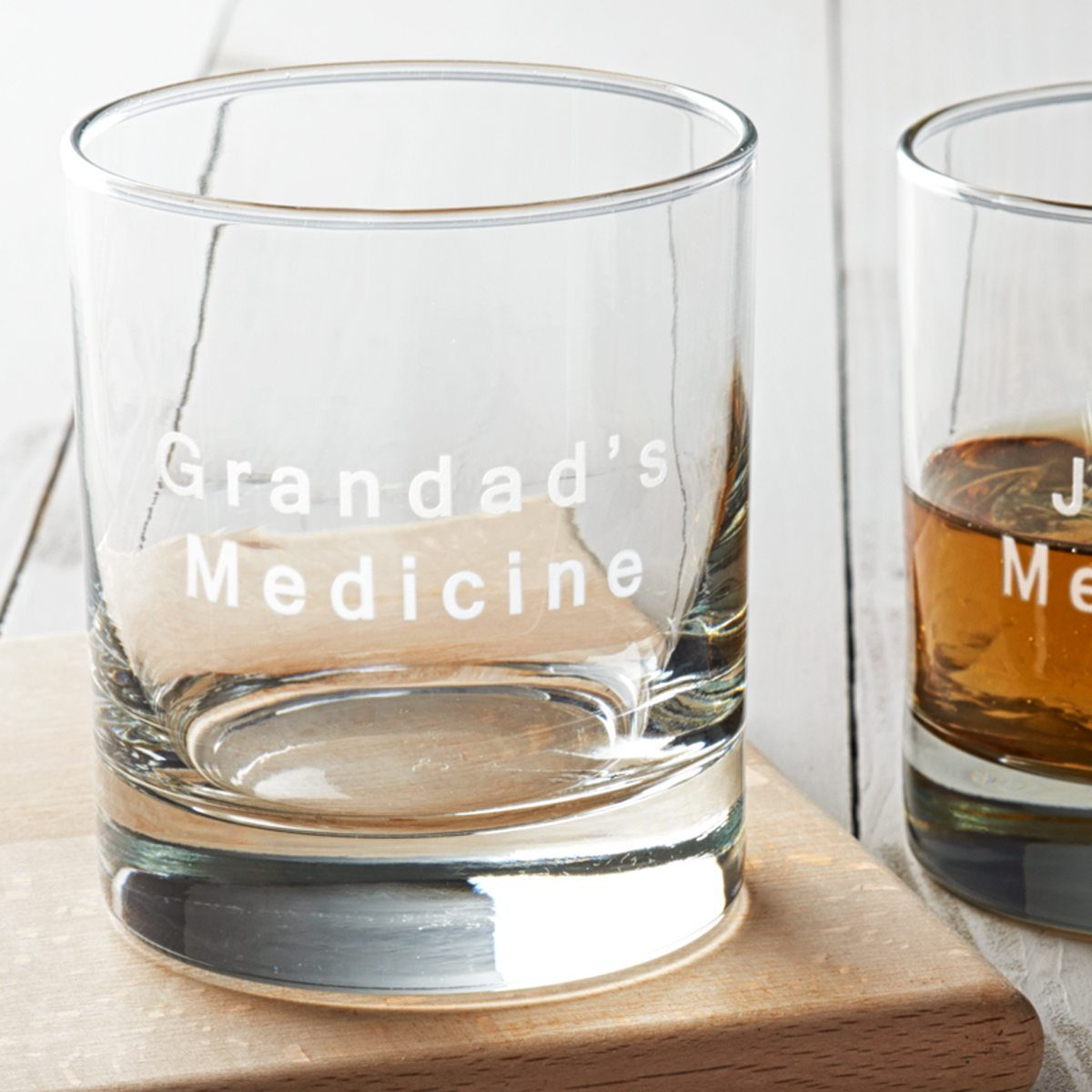 Personalised 'Medicine' Drinks Glass