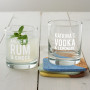 Personalised Mixers Glass