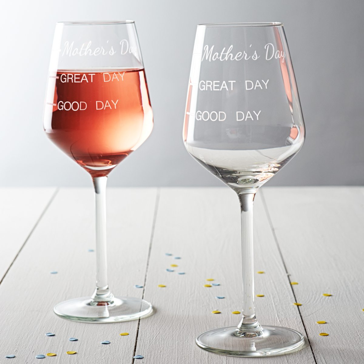 'Mother's Day' Measures Wine Glass