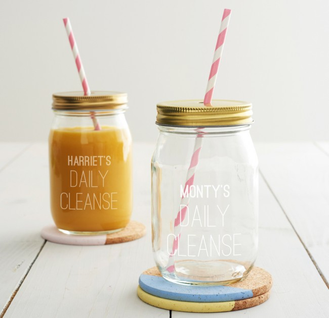 "... to review ""Personalised Daily Cleanse Juice Jar"" Cancel reply"