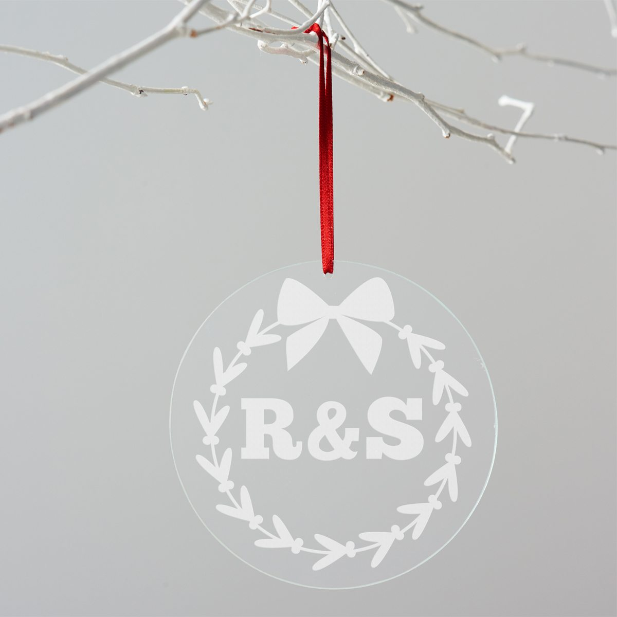 Personalised Initials Christmas Decoration