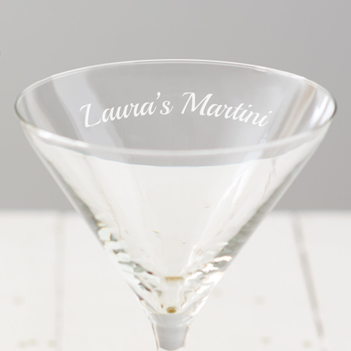 Personalised Martini Glass
