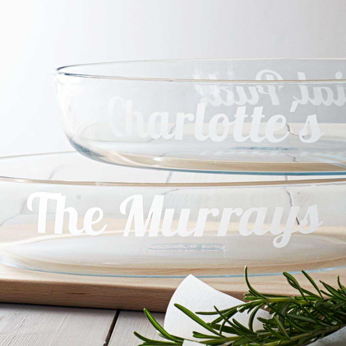 Personalised Glass Dish