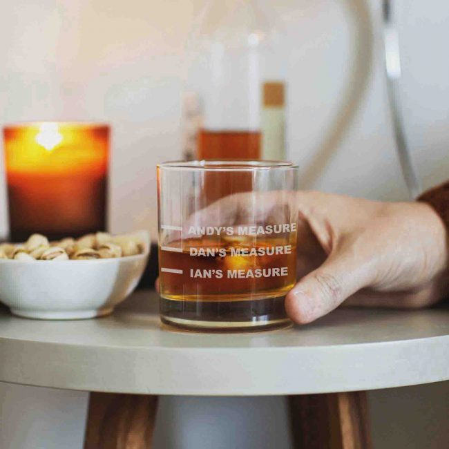 Personalised Whisky Glass Lifestyle