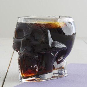 Tiki Skull Glass