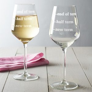 Teachers Wine Glass