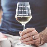 Teachers Wine Glass Detail Lifestyle