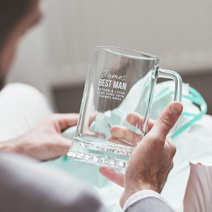 Personalised Best Man Tankard Lifestyle