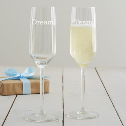 Personalised Corporate Champagne Flute