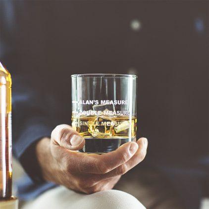 Personalised Drinks Measure Glass Lifestyle
