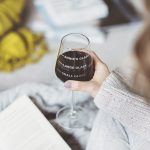 Personalised Drinks Measure Wine Glass Lifestyle Book