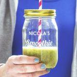 Personalised Smoothie Jar Lifestyle Detail