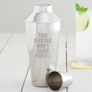 This Cocktail Won't Shake Itself Cocktail Shaker