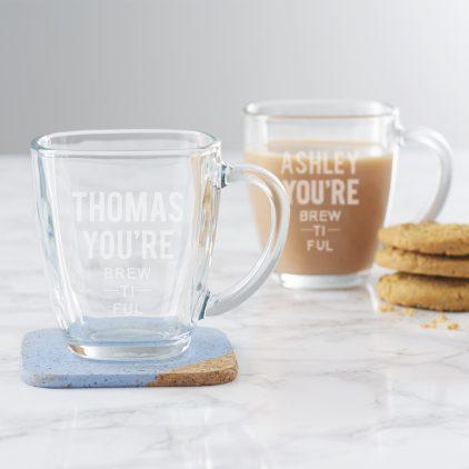 Personalised 'You're Brewtiful' Mug