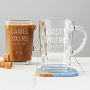 Personalised 'You're Brewtiful' Mug