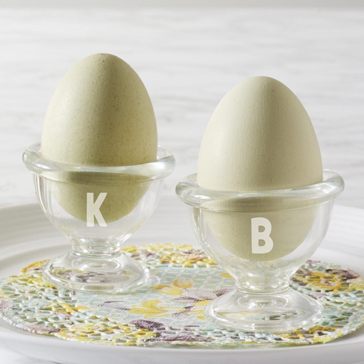 Initial Egg Cup