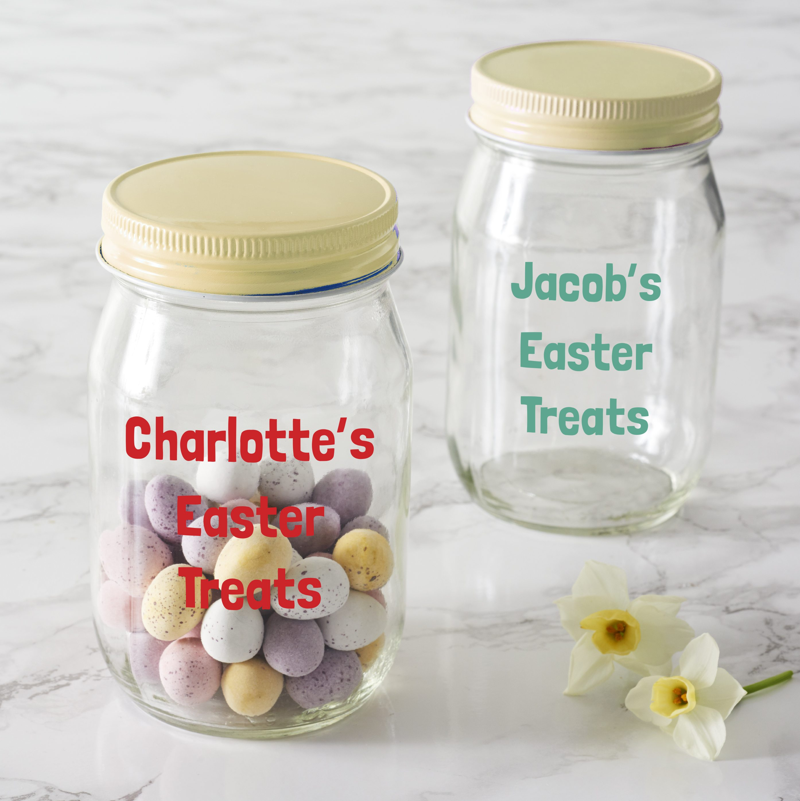 Personalised Easter Jar