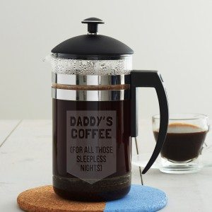 Personalised Cafetiere For Dad