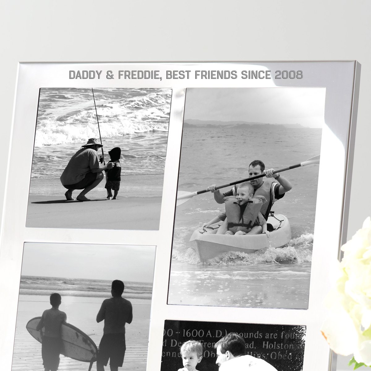 Personalised Multi Frame For Dad