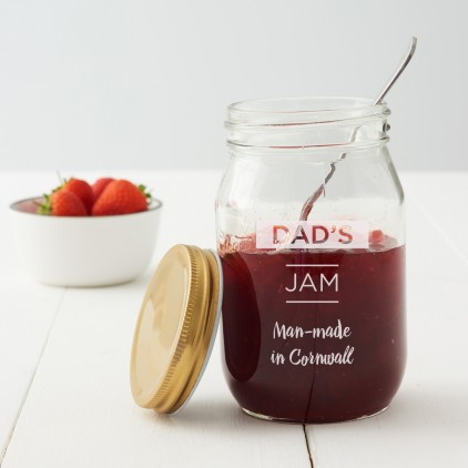 Personalised Preserve Jar