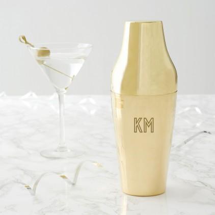 initials-brass-shaker