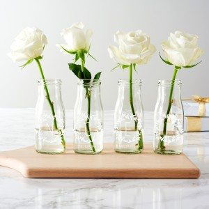 Personalised 'Noel' Bottle Bud Vases Cropped