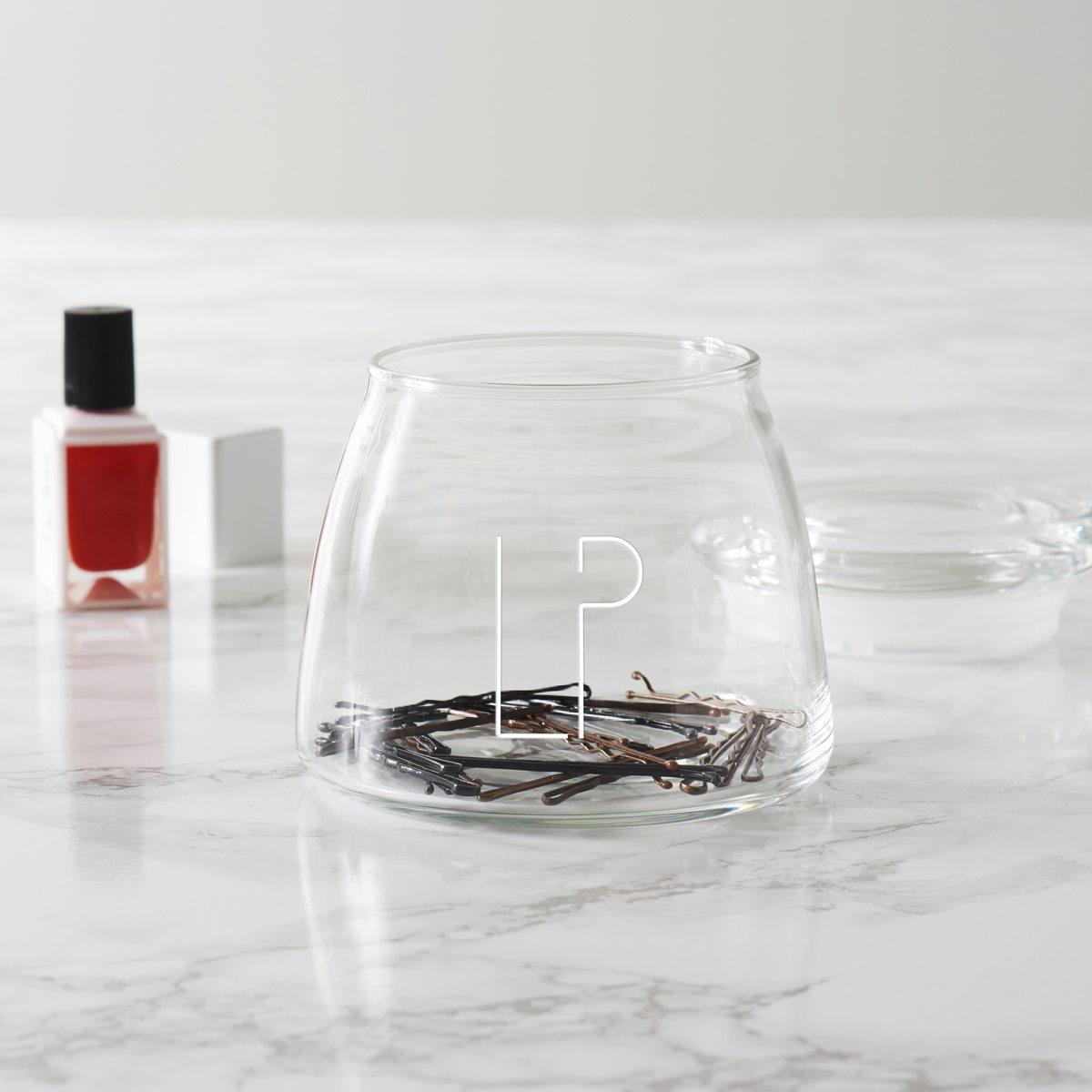 Personalised Initials Beauty Storage Jar