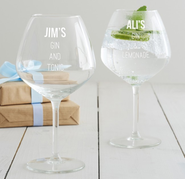 Personalised Mixers Goblet