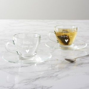 Personalised Teacup And Saucer For Her
