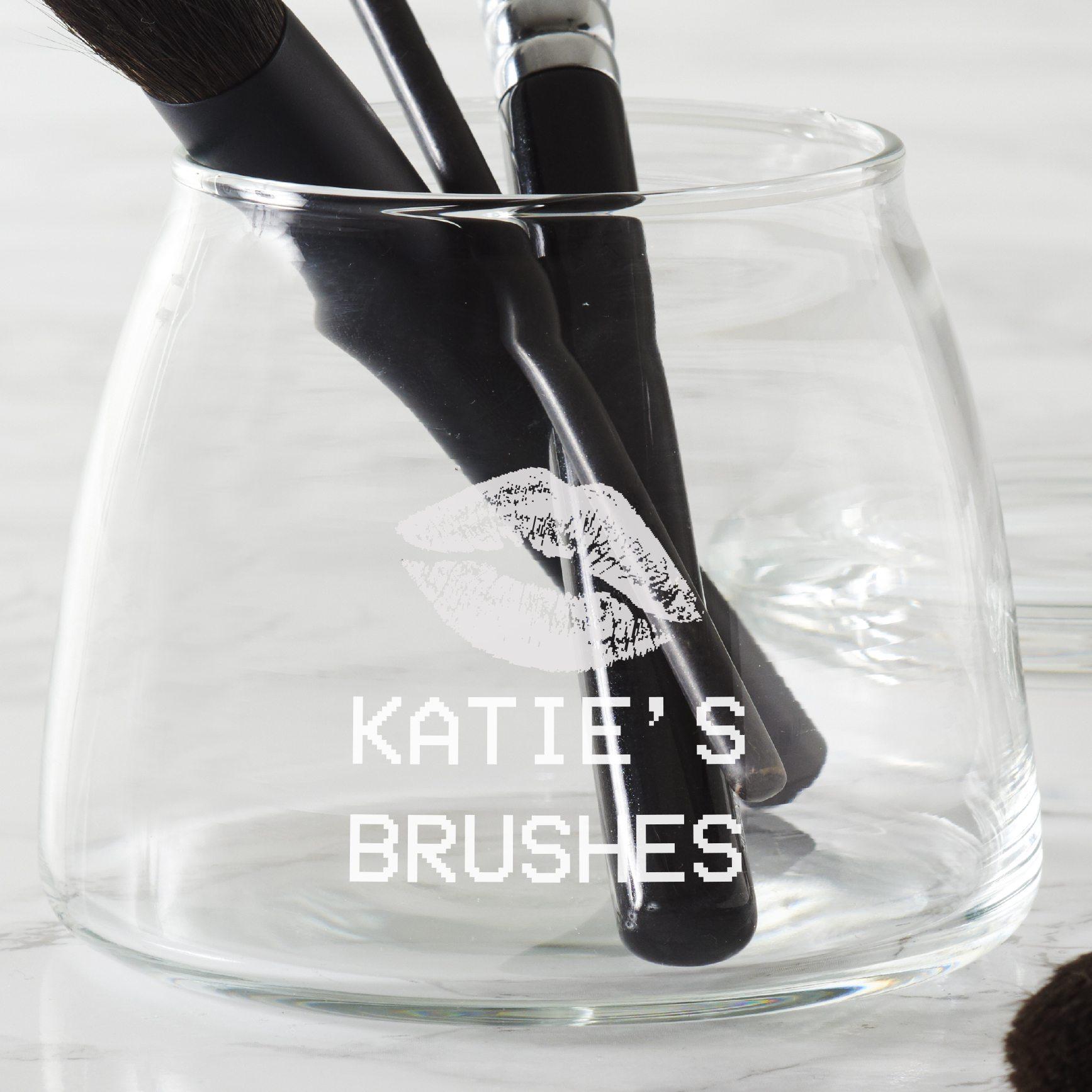 Personalised 'Kiss' Beauty Storage Jar