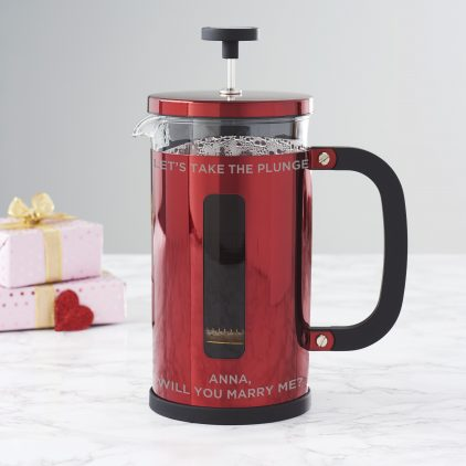 Personalised Proposal Cafetiere Jerri