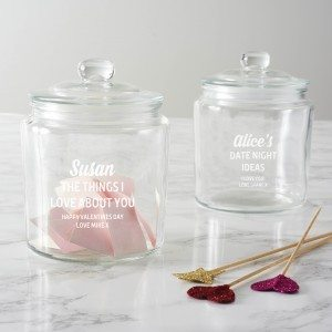 Personalised 'Things I Love About You' Jar