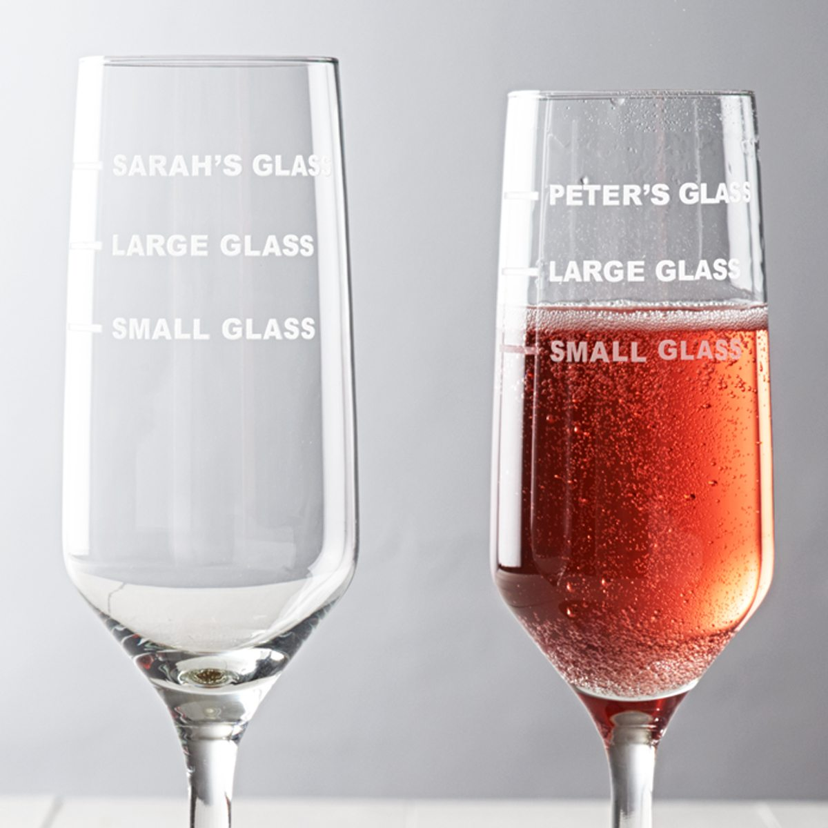 Personalised Measures Champagne