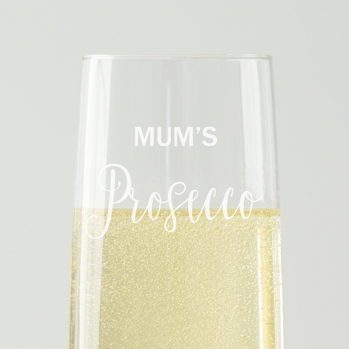 Personalised Prosecco Glass for Mum