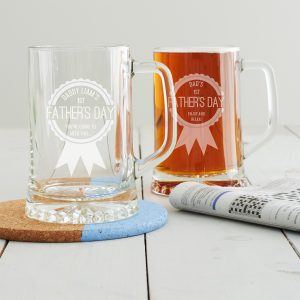 Personalised First Father's Day Tankard
