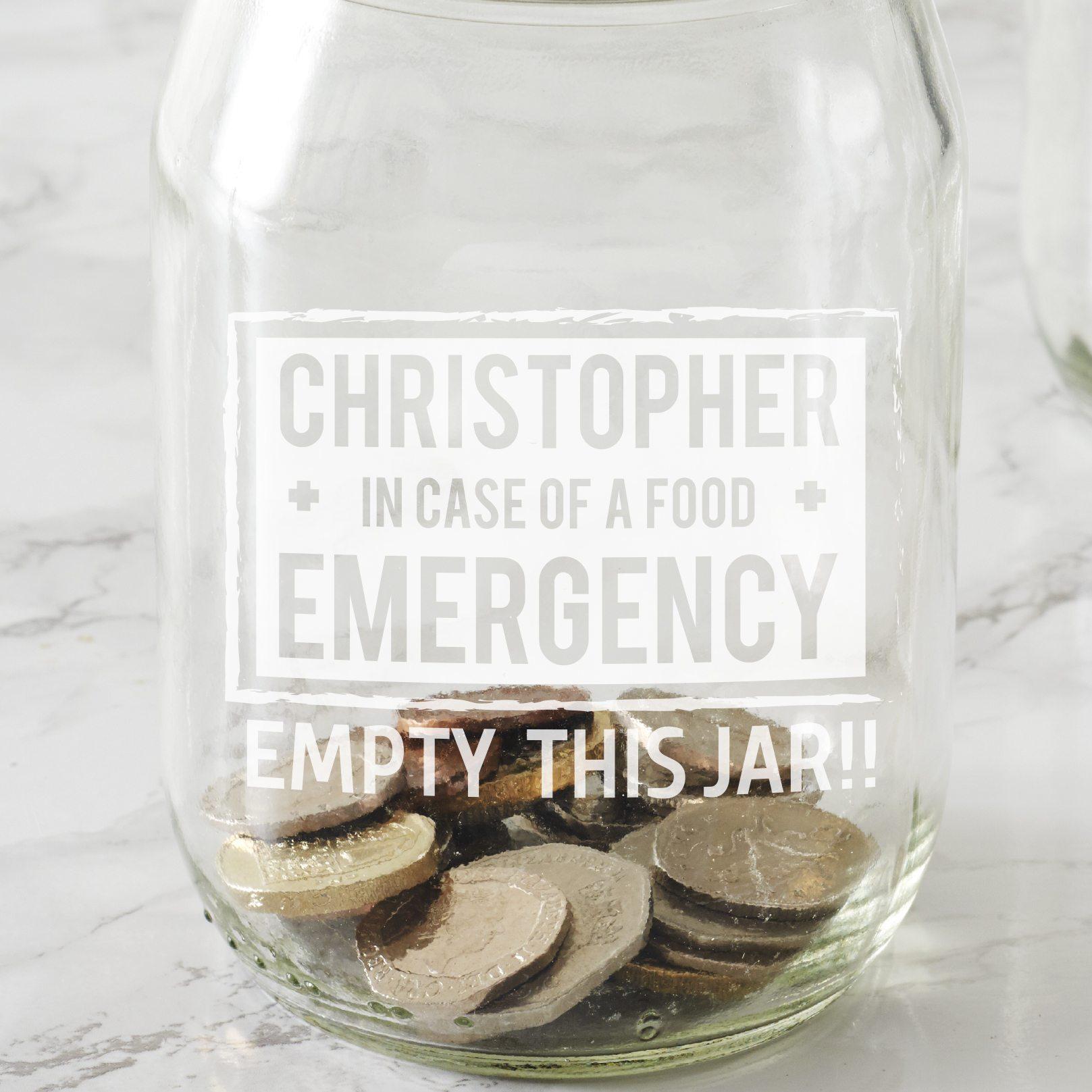 Personalised Student Money Jar
