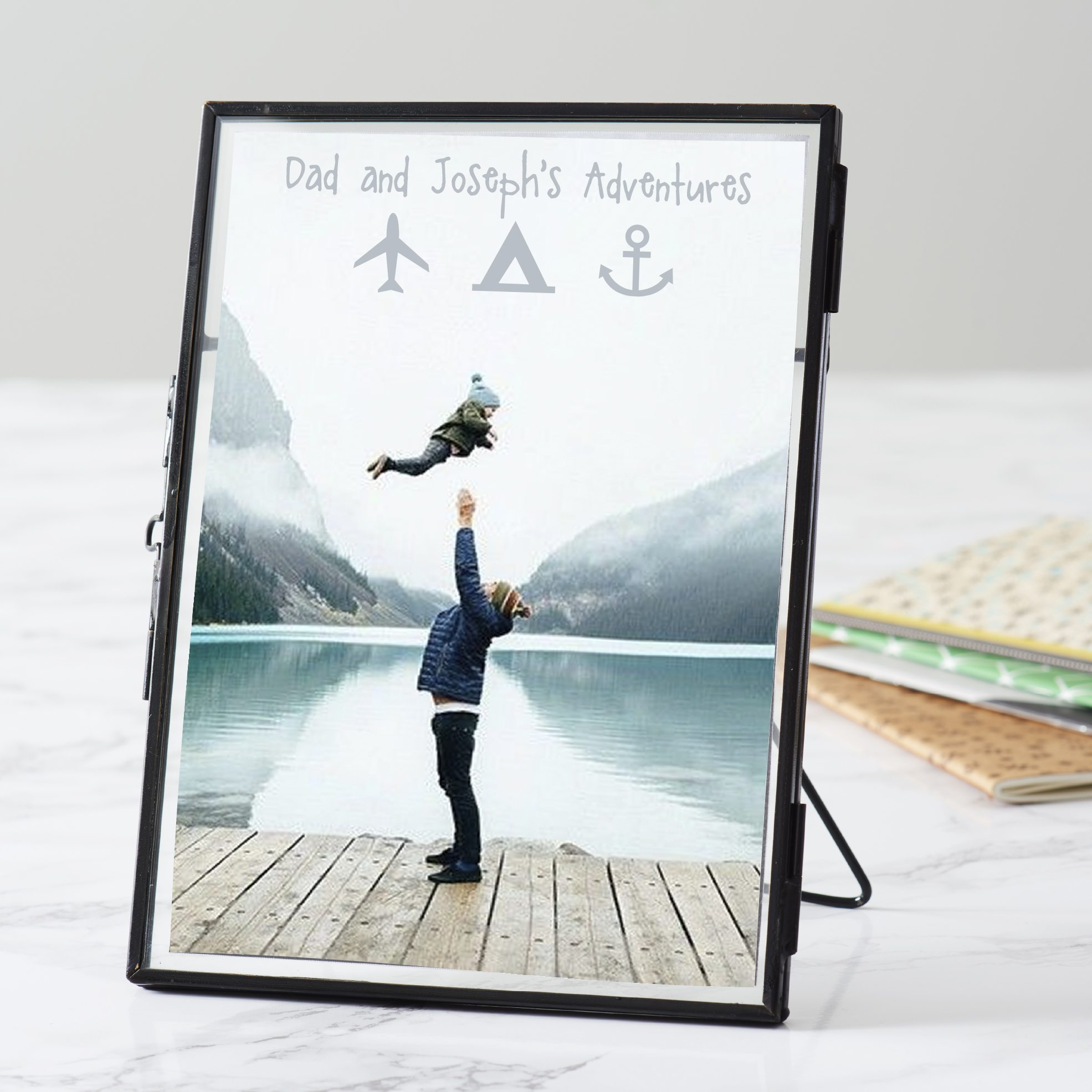 Personalised Adventure Frame For Dad