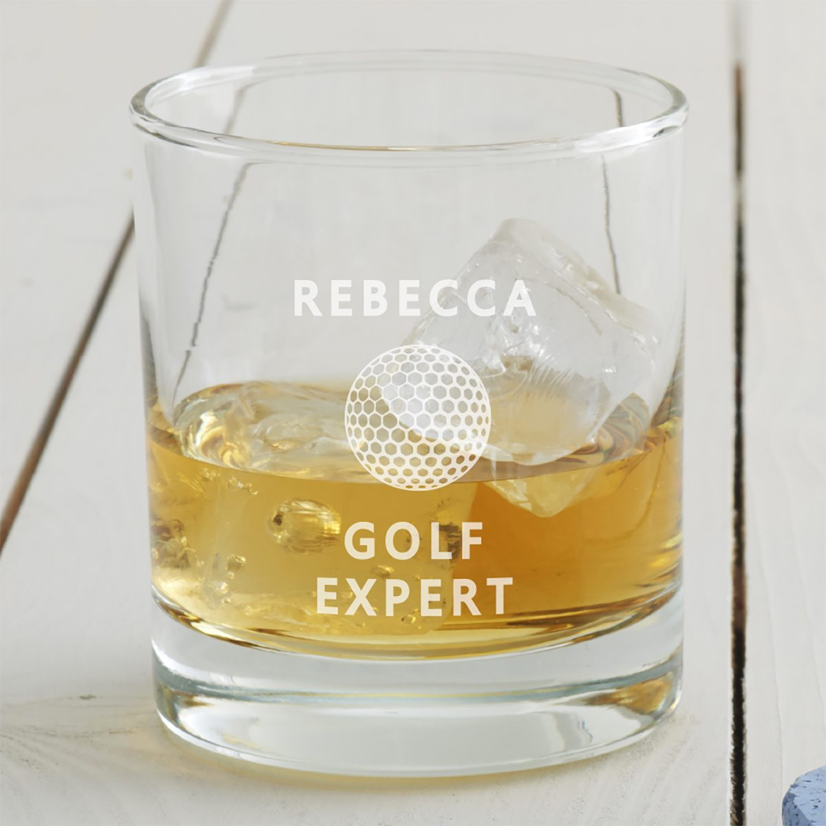 Personalised Golf Tumbler Glass
