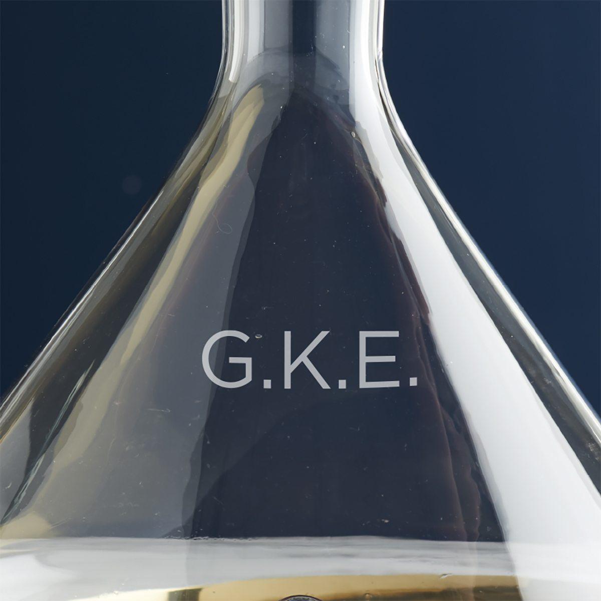 Personalised Initials Wine Decanter