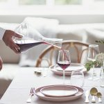 Personalised 'Initials' Wine Decanter Lifestyle Pour
