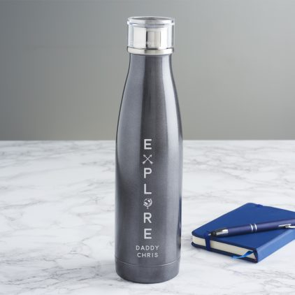 Personalised Explore Water Bottle