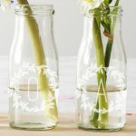 Personalised Name Bottle Bud Vases