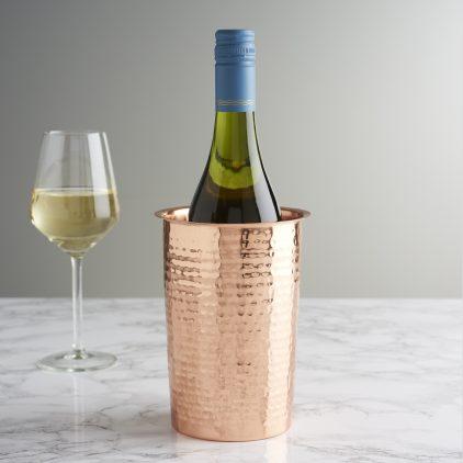 Hammered Copper Wine Cooler