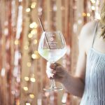 Personalised Milestone Birthday Gin Goblet For Her Lifestyle