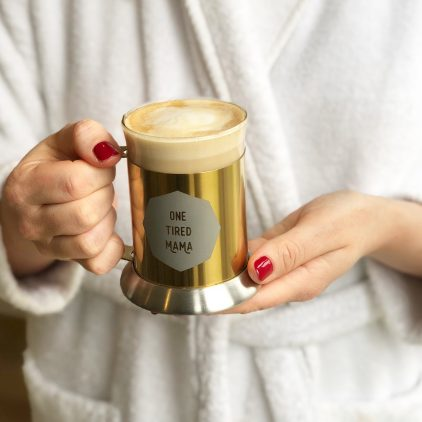 Personalised Gold Mug For New Mum Lifestyle